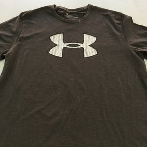 Under Armour Tee Loose Graphic Active Sport Gym L